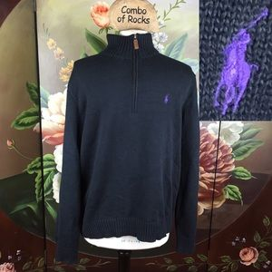 Polo by Ralph Lauren Zipper Men's Pullover Sweater